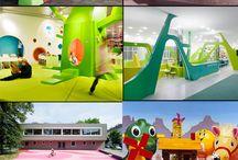 детские сады (интерьер)