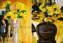 Event Black - Yellow / wedding-events.ch