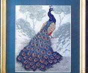 Cross Stitch - Peacock