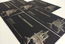 Foil, Embossing & Thermography / Foil embossing or de bossing