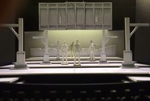 "Henry IV Scenic Renderings and Models / These sneak peaks of Shakespeare's ""Henry IV"" were intricately crafted by Marcus Stephens. These renderings and models will make their debut at the 2014 Notre Dame Shakespeare Festival. / by Notre Dame Shakespeare Festival"