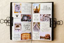 Travellers notebook / hobonichi