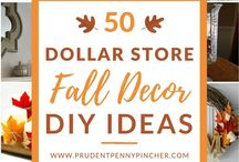 Fall / A collection of fall themed craft & decorating ideas.