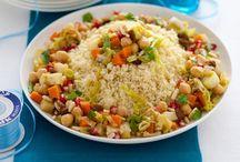 Ricette: Cous Cous,Tabulè & Buglur / Recipes with Cous Cous & Tabulè
