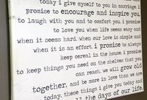 Wedding page ideas