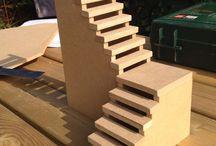 Лестницы кукольного домика