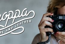 Stroppa - Rope and Leather camera straps / Hand made camera straps