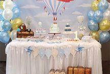 festa niver  balões