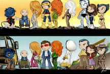 Lil Heroes & Villains / Marvel & DC lil heroes & villains