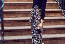 leopard skirts