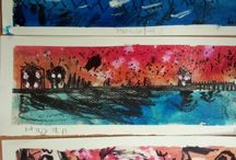 Easton Royal Art Club / Here are the artwork from the Easton Royal Art club with pupils from reception to year 6 working with Faux Arts at the school