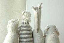 Knitting toy