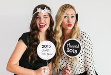 Crafting for New Year / Having a New Year's Party this year or want some project ideas to celebrate a new beginning? Check out these great ideas to jazz up your party or get organised for the next 12 months!