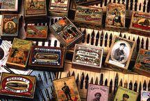 Escritura Colecciones / Material de escritorio: bolígrafos, gomas, lapices, etc.