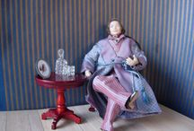 Anro Minatures 12th scale Dolls