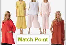 Match Point Women's Linen Clothing