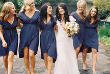 Bridesmaids & decor