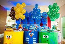 Tema festa de aniversário