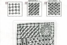 Zentangle dot grid