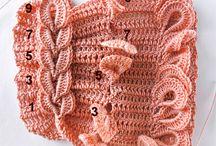 puntos a crochet