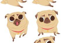 moodboard doggo