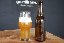 Bieres des Quatre Pays. Alsace / Brasserie Artisanale. Dégustation et vente de bières bio