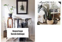 Hemma hos / Reportage med våra inredningsbloggare och inspiration i vackra hem. Shoppa inredning och få mer inspiration på https://www.shopcorn.com/