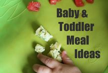 Baby and toddler meal ideas