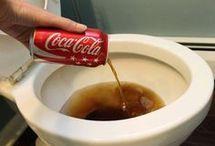 Tips EXC !! con Coca-Cola  para limpieza y otros