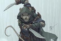 Anthropomorphic warriors