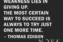 Words of Wisdom from NOVA®