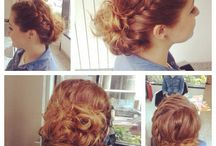 Hair  styling / Relaxed styling
