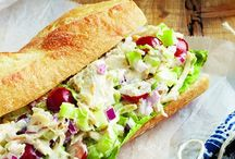 recipes - sandwiches cold / by Connie Frandsen