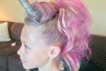 Funny hairdo's