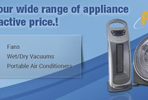 Appliances / Get list of huge range of useful #appliances in your #dailylife, at best competitive price.