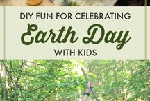 earth day with kids / All about celebrating Earth Day with kids. We share posts about going green with kids, raising animal advocates, protecting the planet, and green DIY activities for kids.