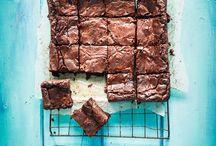 Brownies, Blondies & more ||| / Brownies, Blonies, Cookie Bars etc