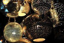 Ligth, lamps, lanterns, candles
