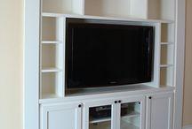 Tv built in