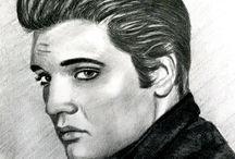 DRAWING PENCIL PORTRAITS / karakalem portre çizimlerim