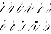 Calligrafia / come scrivere bene