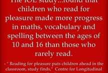 reading for pleasure children