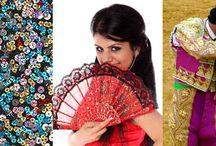 Trajes y vestidos tradicionales de los españoles - Traditional Spanish Costumes