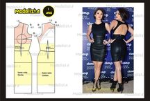 Sewing inspiration - Pattern drafting & draping / by Mac