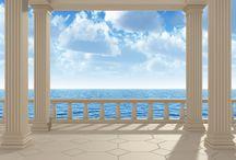 Stenen en Muren Fotobehang / Tover uw witte/lege muur om in een stenen/houten muur! Prachtig voor in de woon -en slaapkamer of uiteraard voor uw kantoor! Het geeft een prachtige sfeer!