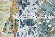 Watercolor Floral / Feminine florals get even sweeter with painted watercolor motifs. Bring an artistic touch to your home with Surya rugs in painterly floral designs.