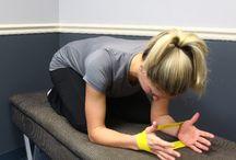 Scapular stabilization exercises