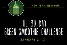The 30 day green smoothie challenge!!