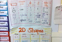 Math 3D Objects 2D Shapes / by Lori-Ann Lingley