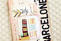 Barceloneta scrapbooking / L'scrapbooking és el terme anglès per definir la tècnica de personalitzar àlbums de fotografies. Consisteix en multitud de processos creatius com retallar, enganxar o el collage per crear una composició de memòries i records. També s'aplica a cartes, a poemes, a invitacions o a tot allò que proposi la imaginació. L'escriptor americà Mark Twain es va convertir en un entusiasta de el scrapbooking creant nombrosos àlbums personals, que va arribar a vendre.